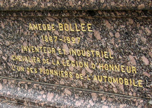 Tombe d'Amédée Bollée père